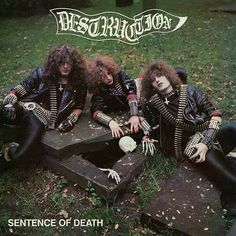 Destruction Old School Thrash Metal from Germany Power Metal, Thrash Metal, Destruction Band, Extreme Metal, Metal Albums, Rock Outfits, Punk Goth, Death Metal, Metal Bands