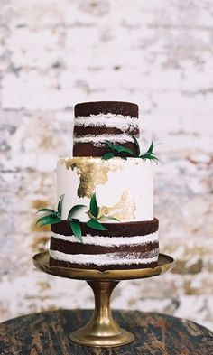 36 Rustic Wedding Cakes We Love