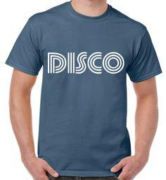 Retro Disco slogan T-shirt