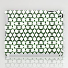 green chain iPad Case
