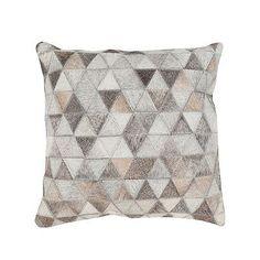 "Kaleidoscope Hide Decorative Pillow - 22"" Sq. - Frontgate"