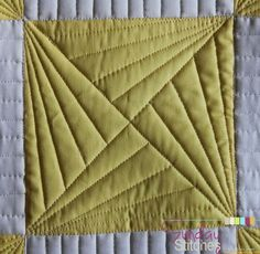 How to: Free Motion Quilt Spinning X Block - Sunday Stitches (Piece N Quilt) - Hey there! Are you ready for another Sunday Stitches tutorial? I thought it would be fun today to s - Quilting Stencils, Quilting Templates, Quilting Rulers, Longarm Quilting, Free Motion Quilting, Patchwork Quilting, Quilting Tips, Quilting Tutorials, Sewing Tutorials