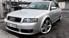 B6 with S6 wheels; Also USP front bumper