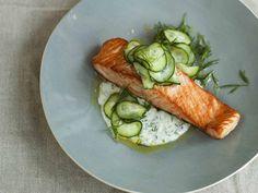 Diana Henry's Scandinavian dill cream salmon