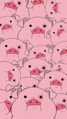 Waddles from Gravity Falls Pig Wallpaper, Cartoon Wallpaper Iphone, Disney Phone Wallpaper, Iphone Background Wallpaper, Cute Cartoon Wallpapers, Tumblr Wallpaper, Cellphone Wallpaper, Aesthetic Iphone Wallpaper, Aesthetic Wallpapers