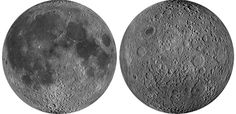 At the National Air and Space Museum, beautiful images show how the moon's pockmarked surface is rife with mystery