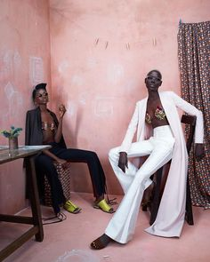 """Check out @modelsdot and spot Orange Culture We are super excited to have been a part of @modelsdot Africa rising shoot thanks to @iojofx alongside…"""