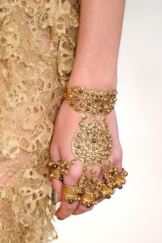 McQueen. You can buy these jewels at the Indian market for nothing