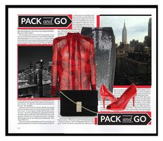 """Pack for New York Fashion Week"" by robison-stacy ❤ liked on Polyvore featuring SCARLETT, Donna Karan, Kenneth Cole and Pierre Balmain"