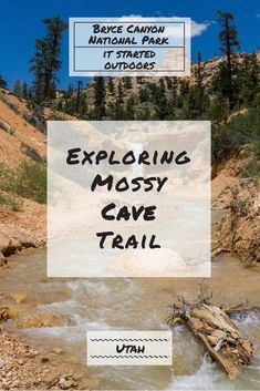 Have you ever seen a movie where the supporting actor overshadows the main character? The hike to Mossy Cave is a similar situation. The cave is not the impressive sight on this hike but rather an unnamed waterfall is. Mossy Cave Trail is located in Bryce Canyon National Park in Utah.