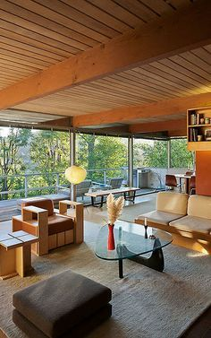 The Hailey Residence is a California home built by Richard Neutra in 1959   Tiny Home Masterpiece
