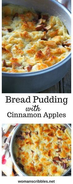 This bread pudding recipe will be your favorite for an easy and simple pudding dessert that is so tasty and delightful. Infused with cinnamon and studded with apples and almonds, this treat can be enjoyed even for breakfast or a quick snack.