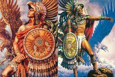El Guerrero Azteca Águilapertenecía a la milicia mexicana, pertenecientes al antiguo Imperio azteca.