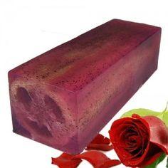 loofah soap slice rough & ready rose