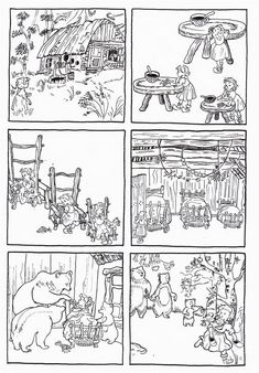 Sequences of 6 images telling classic fairy tales Sequencing Pictures, Story Sequencing, Teaching French, Teaching English, Book Activities, Preschool Activities, Communication Orale, Fairy Tales Unit, Goldilocks And The Three Bears