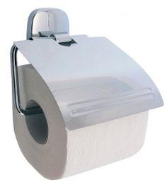 Držiak toaletného papiera na WC s krytom ANETA, chróm