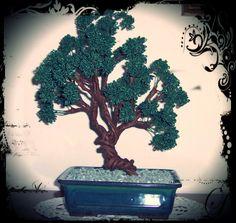 Beaded bonsai