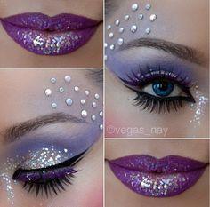 Grape in glitter