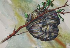 Buy Wasp Nest, Watercolor by Rick Paller on Artfinder. Discover thousands of other original paintings, prints, sculptures and photography from independent artists.