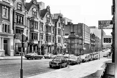 Newhall Street 1980 Birmingham University, Jewellery Quarter, Birmingham England, The Old Days, Working Class, Yesterday And Today, City Buildings, Choir, Old Town