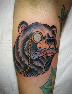 small bear tattoo - Google Search
