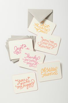Cutsie cards: Every Occasion Notecard Set - Anthropologie.com