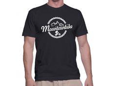 Tricou Capital T Mountainbike Black Capital T, Mens Tops, T Shirt, Fashion, Supreme T Shirt, Moda, Tee Shirt, Fashion Styles, Fashion Illustrations