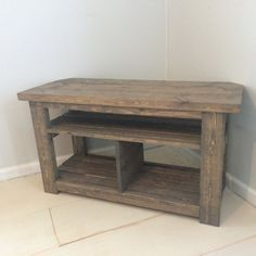 Rustic TV Stand Console Corner Table Gray Dimensions 42Lx165Dx23T If You Are Looking For A Solid Stained Another Color Distressed Or