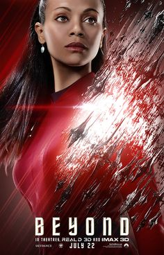 STAR TREK BEYOND (2016) News - Check out the latest Star Trek Beyond character posters...