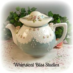 Whimsical Bliss Studios - Fanciful Hat Teapot