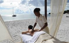Wellness | Beach Massage | ESPA | Buccament Bay Resort | St Vincent & The Grenadines Holidays | Caribbean Warehouse