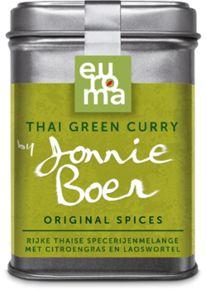 Thai Green Curry : kruiden mengen met water, vissaus of olie en event. garnalen pasta om een pasta te maken