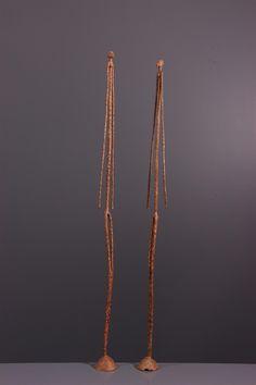 Couple de statues en bronze Dogon - Bronze-art-africain - Art africain #ArtAfricain #Bronze #Dogon Statue En Bronze, Bronze Art, Statues, Afrique Art, Arrow Necklace, Gold Necklace, Aboriginal Art, Land Art, Sculptures