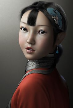 CGArena - Making of a Chinese Girl