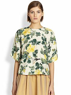 Tome Floral Circle Top