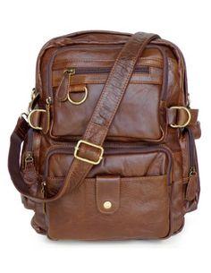 f5e460020ece D Guarantee Genuine Leather Fashion Causal Rucksack Schoolbag  Multifunctional Design Travel Bag Backpack 7042