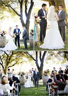 Charles Krug Winery Wedding - St. Helena, California