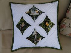 Cathedral Windows Pillow | I used this tutorial sometimescra… | Flickr