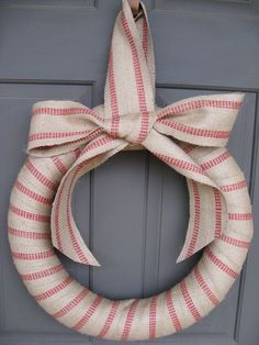 for upholstery...use it to cover a wreath in about five minutes!