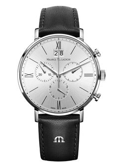 Maurice Lacroix Watch Eliros Chronographe #basel-15 #bezel-fixed…