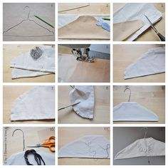 clothes hanger how-to