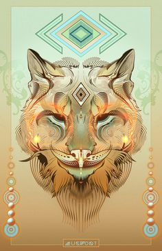 Lynx Totem | Mugwort Designs