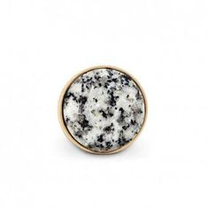 Round Stone Statement Ring - $25