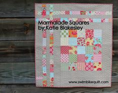 free pattern! Moda Bake Shop: Marmalade Squares (Two!) Quilt