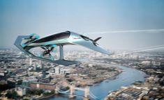Aston Martin Volante Vision Concept in flight