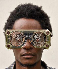 shadowstookshape:  Cyrus Kabiru (b. 1974, Nairobi, Kenya) Lives...