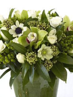 Warm up Winter with a Mixed Flower Arrangement