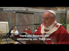 Pope celebrates his saints day with cardinals:  absurd to look for Jesus without the Church