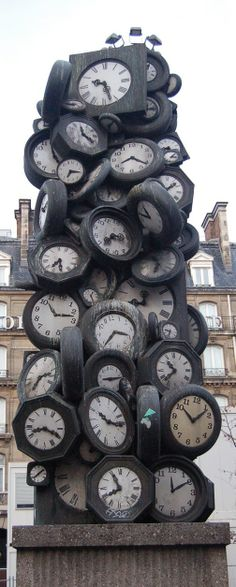 Do you have the time?  #clocktower #paris