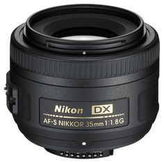 Nikkor DX 35mm f/1.8G. A cheaper, less specialized, easier to use lens for a Nikon DSLR.